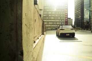 Mitsubishi Lancer Evo Urban - Obrázkek zdarma pro Samsung Galaxy