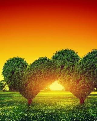 Heart Green Tree - Obrázkek zdarma pro Nokia C2-01