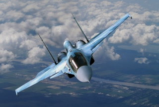 Free Su-35 Flanker-E Picture for Android, iPhone and iPad