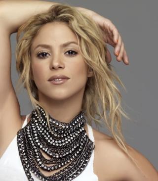 Beautiful Blonde Shakira - Obrázkek zdarma pro 128x160