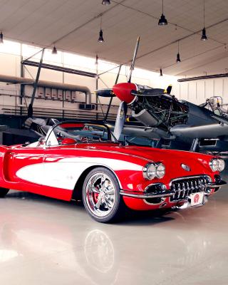 Pogea Racing Chevrolet Corvette 1959 - Obrázkek zdarma pro 640x960