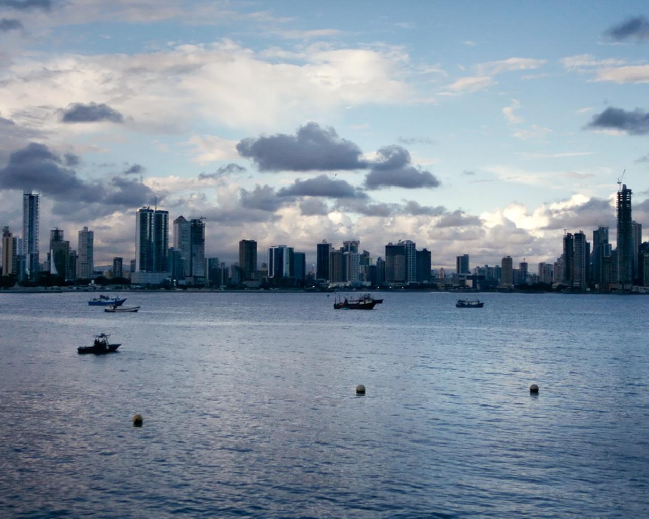 Screenshot №1 pro téma Panama City 1280x1024