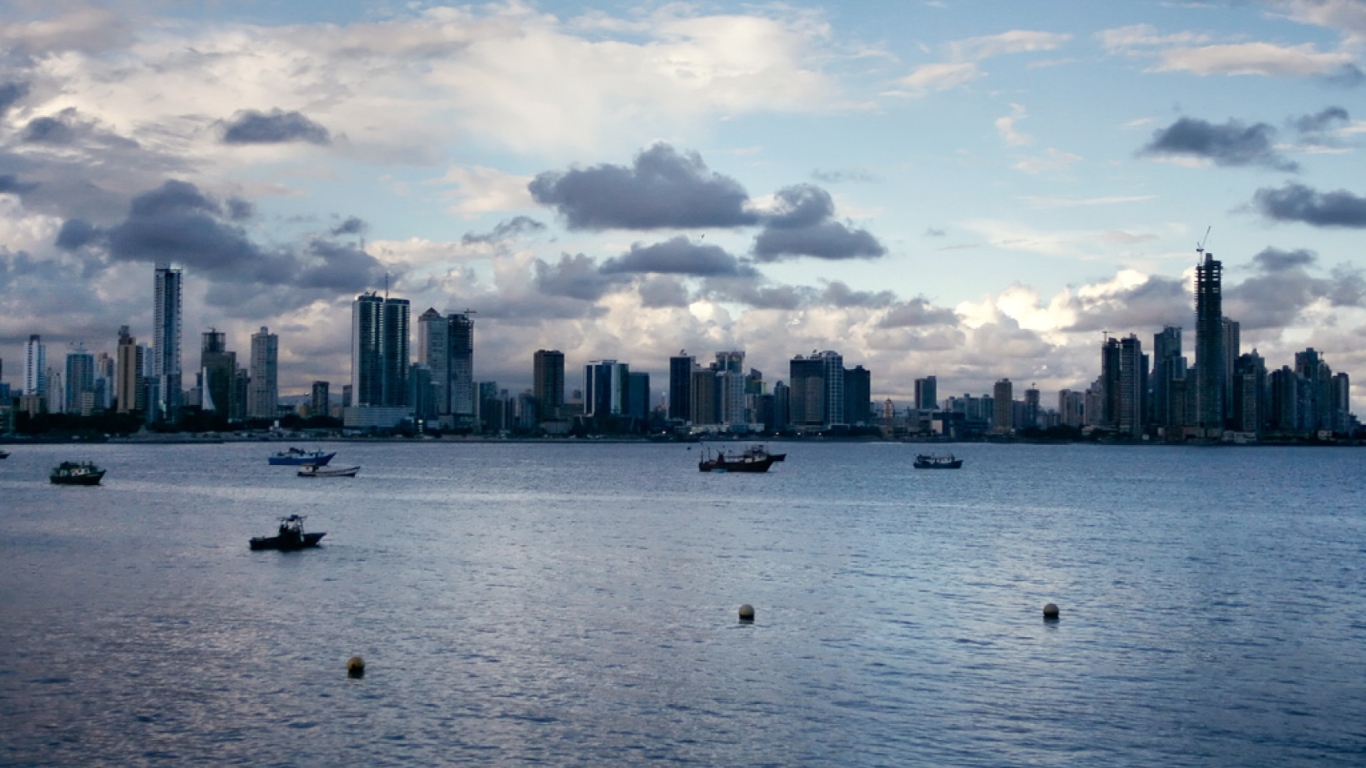 Screenshot №1 pro téma Panama City 1366x768