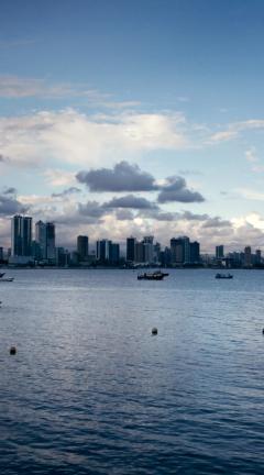 Screenshot №1 pro téma Panama City 240x432