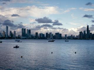 Screenshot №1 pro téma Panama City 320x240