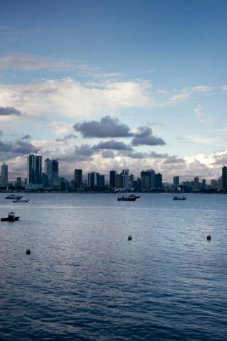 Screenshot №1 pro téma Panama City 320x480