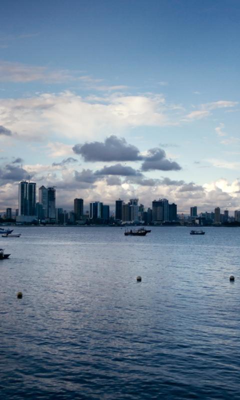 Screenshot №1 pro téma Panama City 480x800