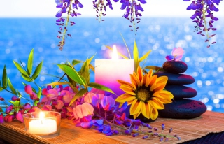 Free Romantic Evening Picture for Android, iPhone and iPad
