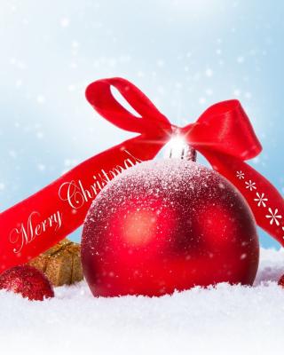 Christmas Ball Ornament Set - Obrázkek zdarma pro iPhone 4S