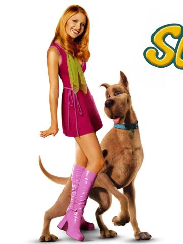 Screenshot №1 pro téma Sarah Michelle Gellar with Dog 360x480