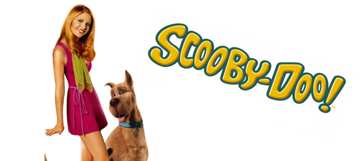 Screenshot №1 pro téma Sarah Michelle Gellar with Dog 720x320