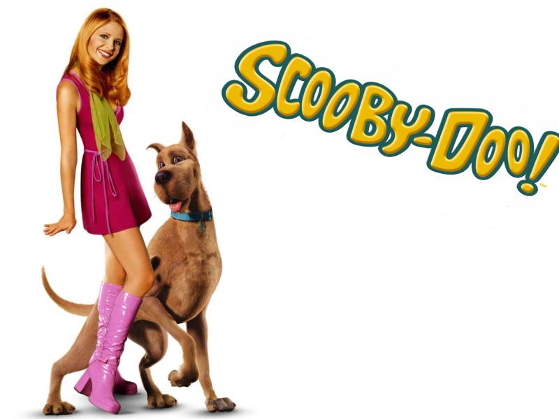 Screenshot №1 pro téma Sarah Michelle Gellar with Dog 800x600