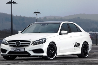 Mercedes Benz E V50 RS W212 Wallpaper for Android, iPhone and iPad