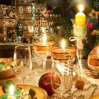 Rich New Year table - Obrázkek zdarma pro 128x128
