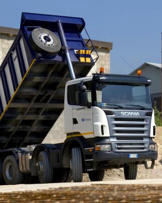 Scania Truck - Obrázkek zdarma pro iPhone 4S
