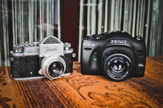 Zenit Camera Wallpaper for Android, iPhone and iPad