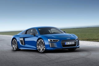 Audi R8 E-Tron Background for Android, iPhone and iPad