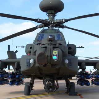 Mi 28 Military Helicopter - Obrázkek zdarma pro 128x128
