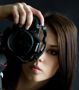 Girl Photographer - Obrázkek zdarma pro Nokia X2-02