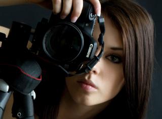 Girl Photographer - Obrázkek zdarma pro Sony Xperia C3