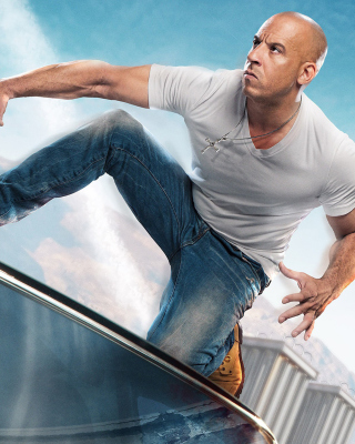 Fast & Furious Supercharged Poster with Vin Diesel - Obrázkek zdarma pro Nokia Lumia 1520