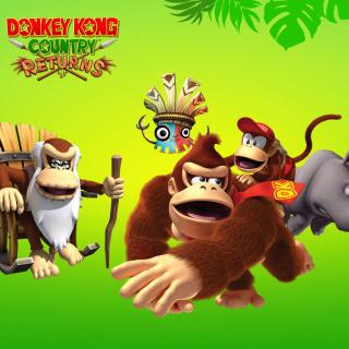 Donkey Kong Country Returns Arcade Game - Obrázkek zdarma pro 208x208