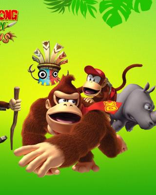 Donkey Kong Country Returns Arcade Game - Obrázkek zdarma pro 480x640