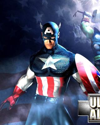 Marvel Ultimate Alliance 2 Hero - Obrázkek zdarma pro 352x416