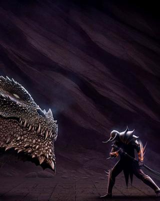 Serpent and Warrior - Obrázkek zdarma pro iPhone 5