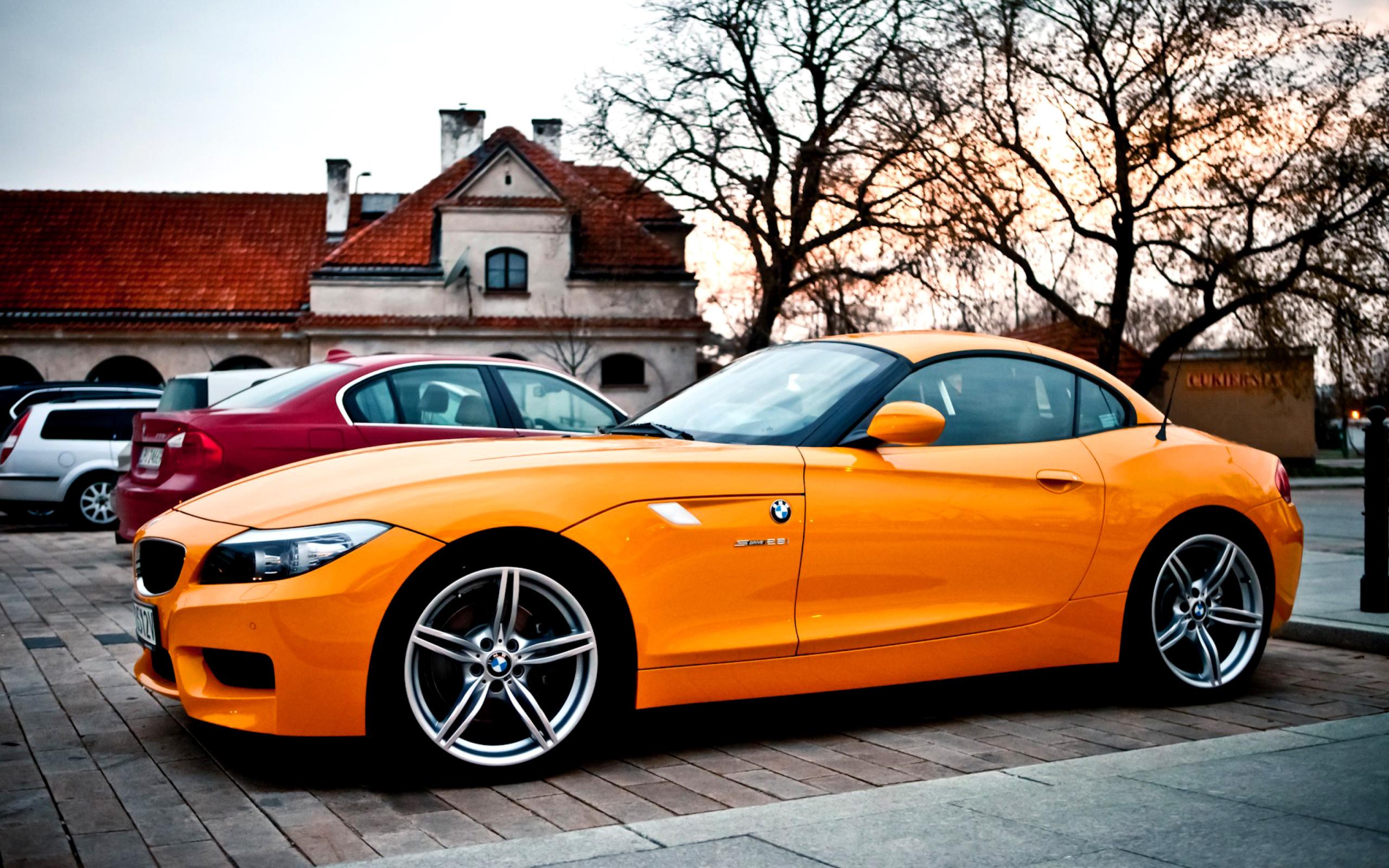 BMW перед оранжевая  № 843895 бесплатно