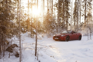 Jaguar XKR-S Convertible Background for Android, iPhone and iPad