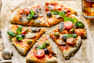 Pizza Wallpaper for Android, iPhone and iPad