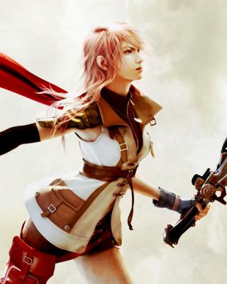 Lightning Final Fantasy XIII - Obrázkek zdarma pro 240x432