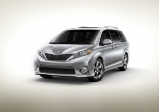 Toyota Sienna Background for Android, iPhone and iPad