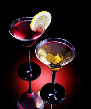 Cocktail With Olives - Obrázkek zdarma pro Nokia C1-01