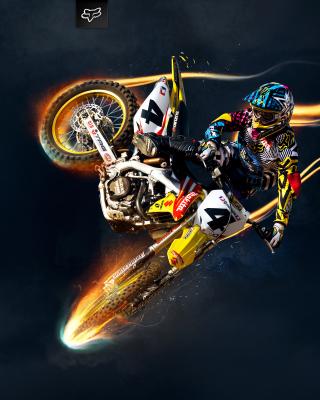 Freestyle Motocross - Obrázkek zdarma pro Nokia Asha 308
