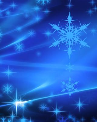 Snowflakes - Obrázkek zdarma pro Nokia Asha 203