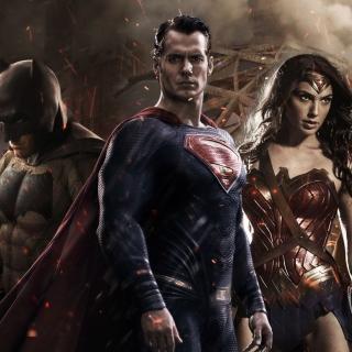 Batman v Superman Dawn of Justice - Obrázkek zdarma pro 2048x2048