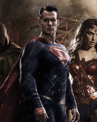 Batman v Superman Dawn of Justice - Obrázkek zdarma pro 240x400