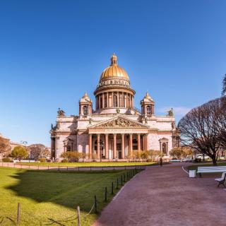 Wallpaper St Isaacs Cathedral, St Petersburg, Russia - Obrázkek zdarma pro 128x128