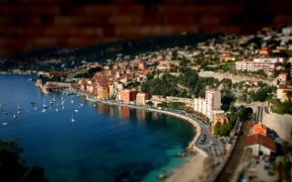 Monaco Panorama Picture for Android, iPhone and iPad