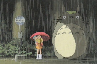My Neighbor Totoro Japanese animated fantasy film Wallpaper for Android, iPhone and iPad