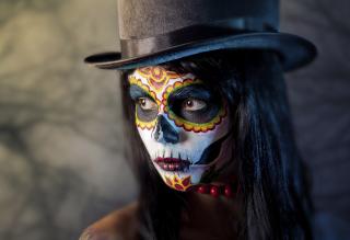 Dia De Los Muertos - Obrázkek zdarma pro Samsung Galaxy Ace 3