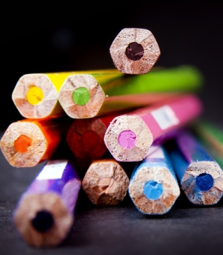 Bright Colorful Pencils - Obrázkek zdarma pro 360x640