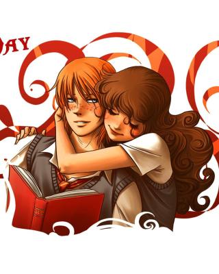 National Hugging Day - Obrázkek zdarma pro 128x160