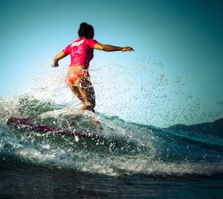 Colorful Surfing - Obrázkek zdarma pro iPad mini 2