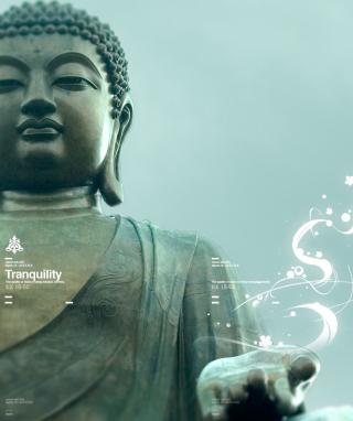 Abstract Buddha - Obrázkek zdarma pro Nokia Asha 501