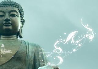 Abstract Buddha - Obrázkek zdarma pro Sony Xperia Tablet S