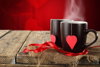 Love Tea Background for Android, iPhone and iPad