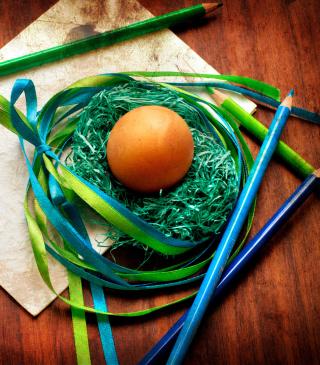 Egg In Nest - Obrázkek zdarma pro Nokia Lumia 505